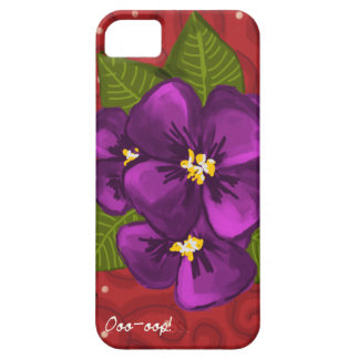 African Violet Dance iPhone 5 Cover