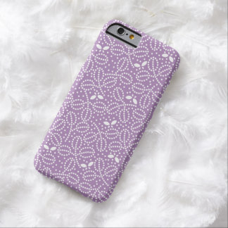 African Violet Leaf & Butterfly iPhone 6 Case