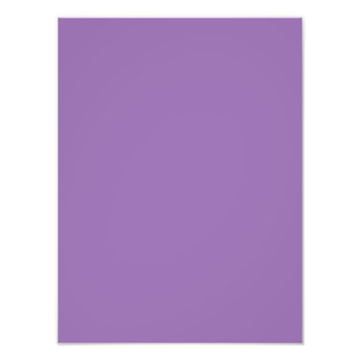 African Violet Purple Color Trend Blank Template Photograph