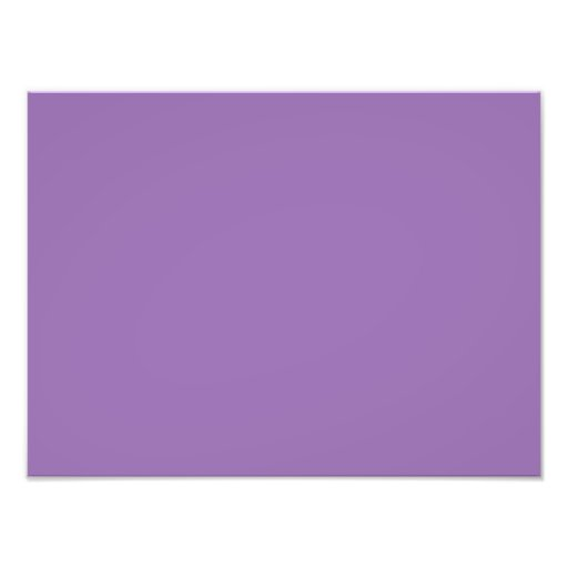 African Violet Purple Color Trend Blank Template Photo