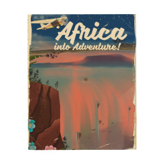 African Waterfall Adventure poster