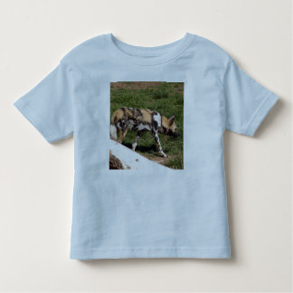 African Wild Dog-011 T-shirt