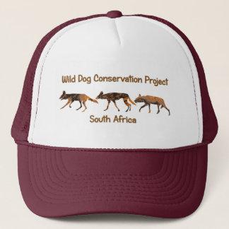 African Wild Dog Conservation Project Safari Cap