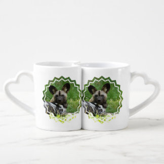 African Wild Dog Lovers Mug Set