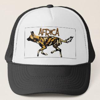African Wild Dog Safari Cap