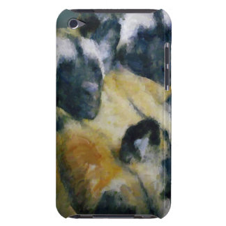 African Wild Dogs/Painted Dogs Sleeping iPod Case-Mate Cases