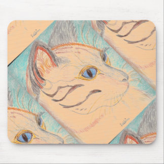 African Wildcat Mousepad (Tiled)