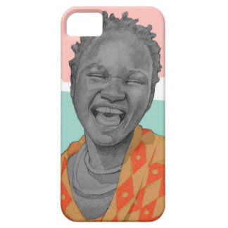 African woman iPhone 5 case