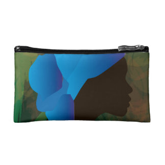 African woman Make up sporran Cosmetic Bags