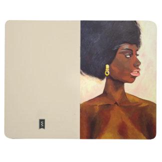 African Woman Portrait of June Journal