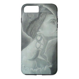 African woman Tough iPhone 7 Plus Case