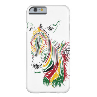 African Zebra Barely There iPhone 6 Case