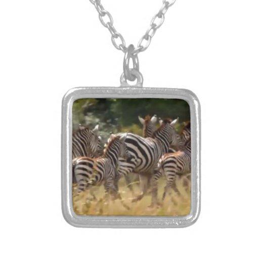 African Zebra cool stuff Pendant