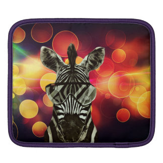 African Zebra Sleeves For iPads