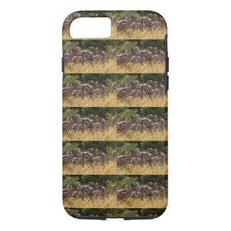 African Zebra stripes print patterned cool design iPhone 8/7 Case