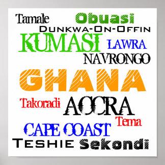 AFRICANKOKO BY GHANA POSTER