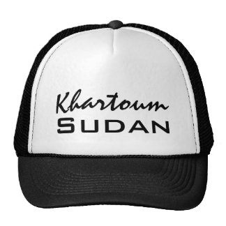 Africankoko Custom Khartoum, Sudan, Africa Mesh Hat