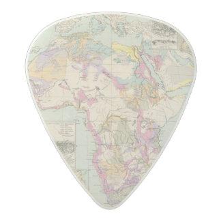Afrika - Atlas Map of Africa Acetal Guitar Pick