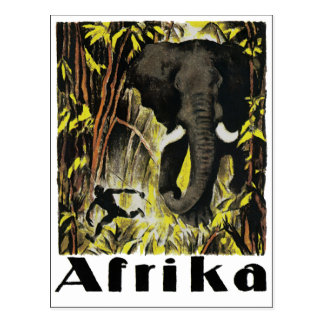 Afrika Postcard