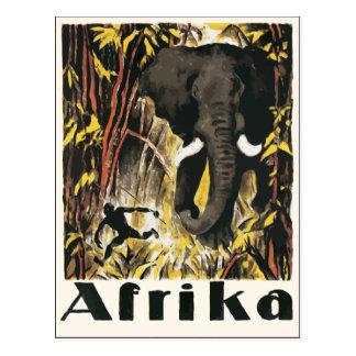 Afrika, Vintage Postcard
