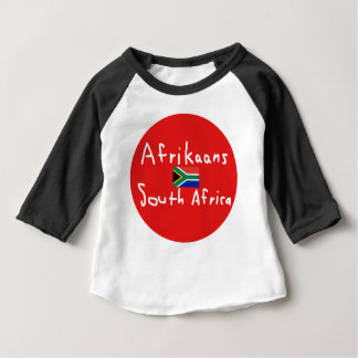Afrikaans South Africa Language And Flag Baby T-Shirt