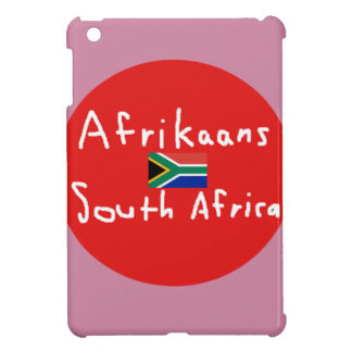 Afrikaans South Africa Language And Flag Cover For The iPad Mini