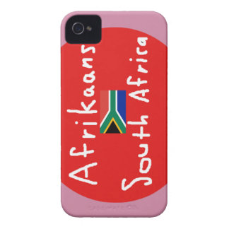 Afrikaans South Africa Language And Flag iPhone 4 Case