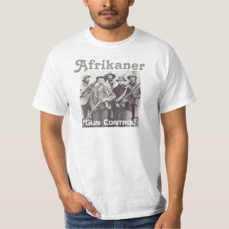 """Afrikaner """"Gun Control"""" T-Shirt"""