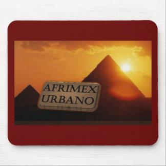 AfriMex Urbano Pyramid Sunrise Mousepad