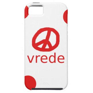 Afrkaans South Africa Peace Symbol Tough iPhone 5 Case