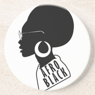 AFRO African American Black gift t shirt Coaster