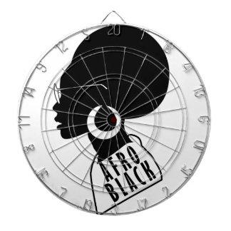 AFRO African American Black gift t shirt Dartboard