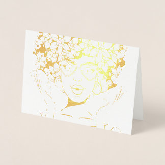 AFRO BEAUTY DIVA FOIL CARD