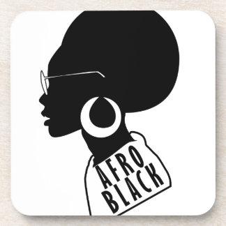 AFRO black design Coaster