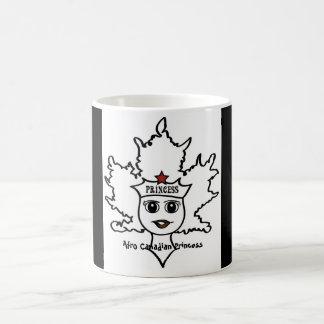 Afro Canadian Princess mug