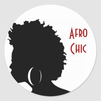 Afro Chic Stickers