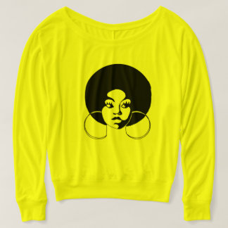 Afro Diva Blousy Long Sleeve Tee