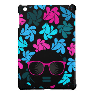 Afro Diva Turquoise & Hot Pink iPad Mini Cases