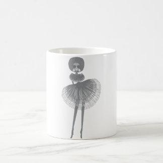 afro fashion girl coffee mug
