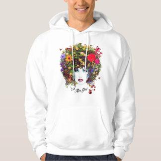 Afro girl hoodie