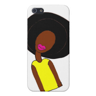 Afro Girl iPhone 5/5S Case