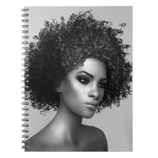 Afro Hair Note Book