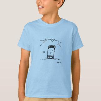 Afro Joe (snowboarding penguin) T-Shirt