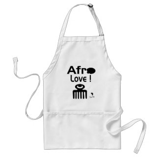 Afro Love with  DUAFE Standard Apron