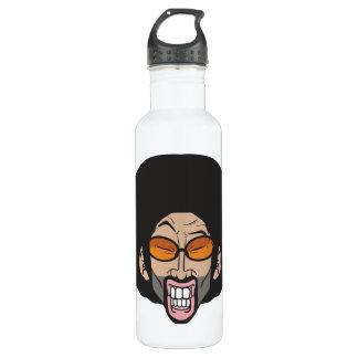 Afro man 24oz water bottle