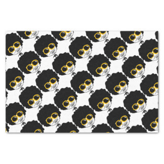 afro man tissue paper