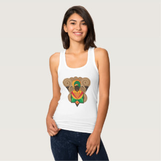 Afro Muse Shield Singlet