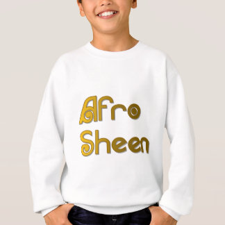 Afro Sheen Sist- gold Sweatshirt