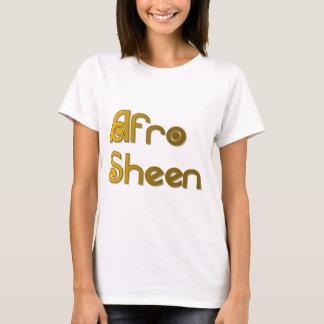 Afro Sheen Sist- gold T-Shirt