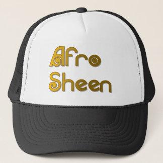 Afro Sheen Sist- gold Trucker Hat